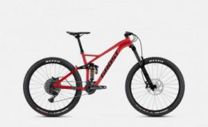 Ghost Framr 8.7 AL  - Riot Red / Jet Black