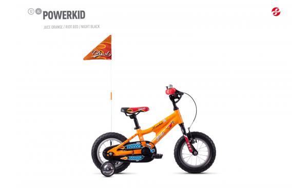 GHOST  Powerkid 12 - Orange / Red