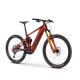 GHOST E-Riot Trail CF Pro B625 - Dark Red / Orange   veľ.M