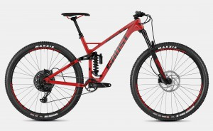 Ghost SL AMR 6.9 LC Riot Red / Jet Black