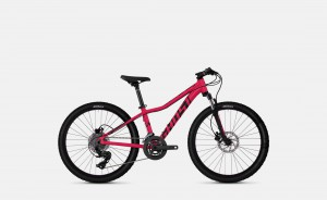Ghost Lanao Kid D4.4 Ruby Pink / Jet Black